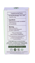 CBD dog treats - Supplement Facts Of 75MG - By All Natural Way