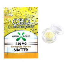 CBD Shatter - 450MG Pineapple Express Flavored  - By All Natural Way