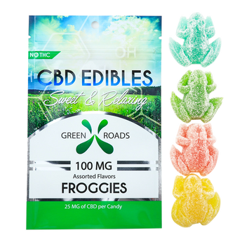 CBD Gummies - CBD Froggies 100MG By All Natural Way