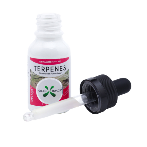 cbd terpenes strawberry
