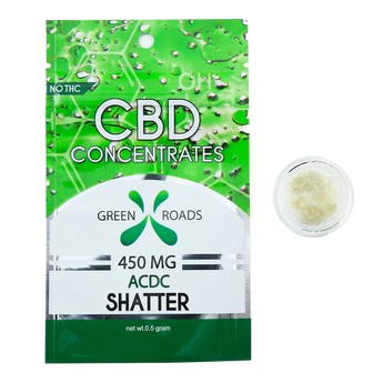 CBD Concentrates ACDC Shatter - 450MG - By All Natural Way