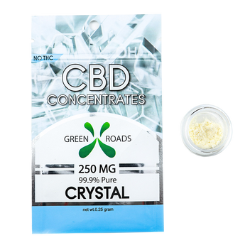 cbd concentrate wax crystal