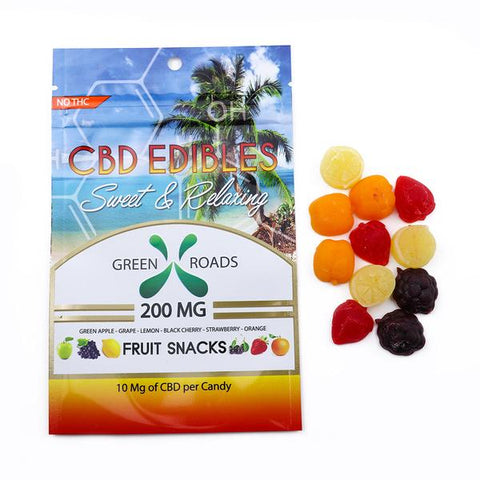 CBD Edibles - Fruit Snacks