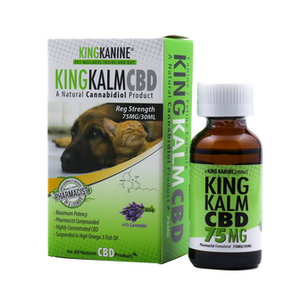 CBD Oil for dog - 75MG - By All Natural Way