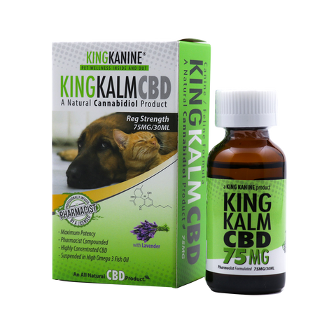 cbd oil for dog seizures king kalm