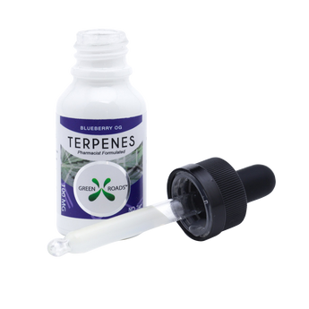 CBD Terpenes Blueberry OG Flavored By All Natural Way