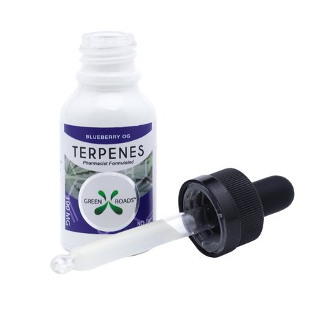 cbd terpenes blueberry