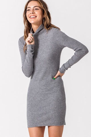 Cute and cozy sweater dress