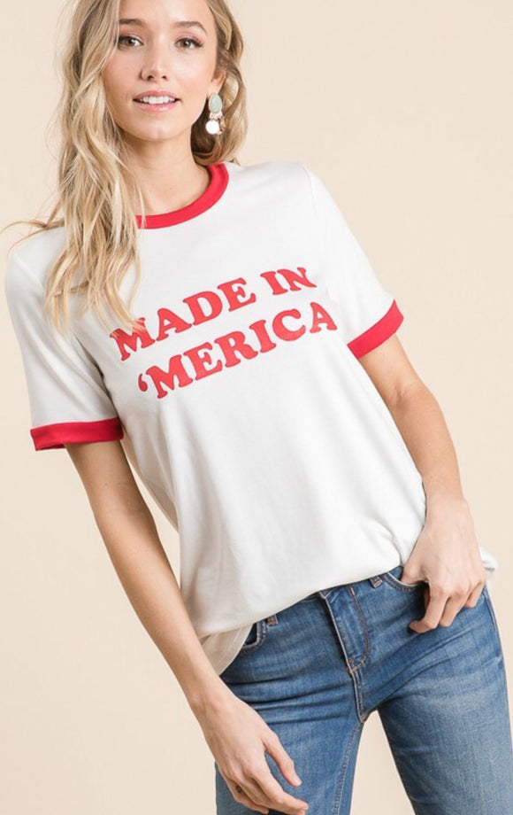 Made in 'Merica  Top