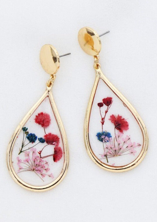 Blooming beauty earring