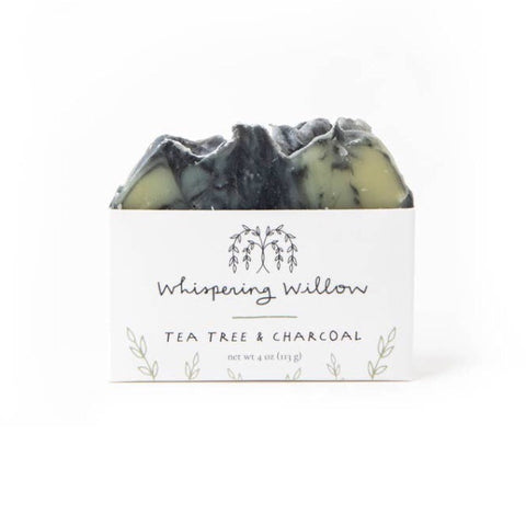 Tea tree w/ charcoal soap
