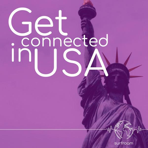 Get connected in USA