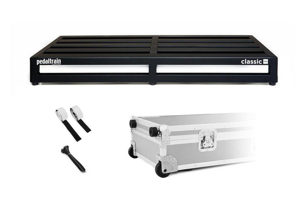 Pedaltrain Classic PRO with Wheeled Tour Case Pedal Boards