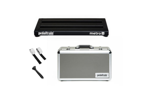 Pedaltrain Metro 16 with Hard Case Pedal Boards