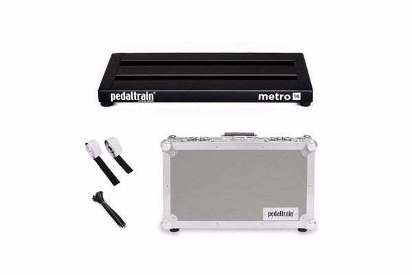 Pedaltrain Metro 16 with Tour Case Pedal Boards