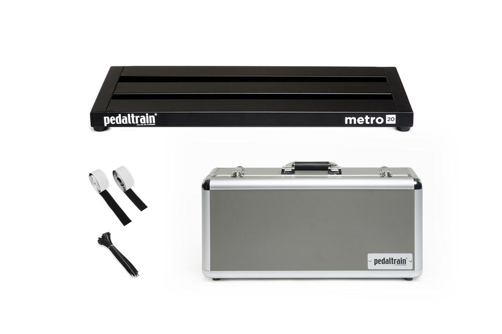 Pedaltrain Metro 20 with Hard Case Pedal Boards