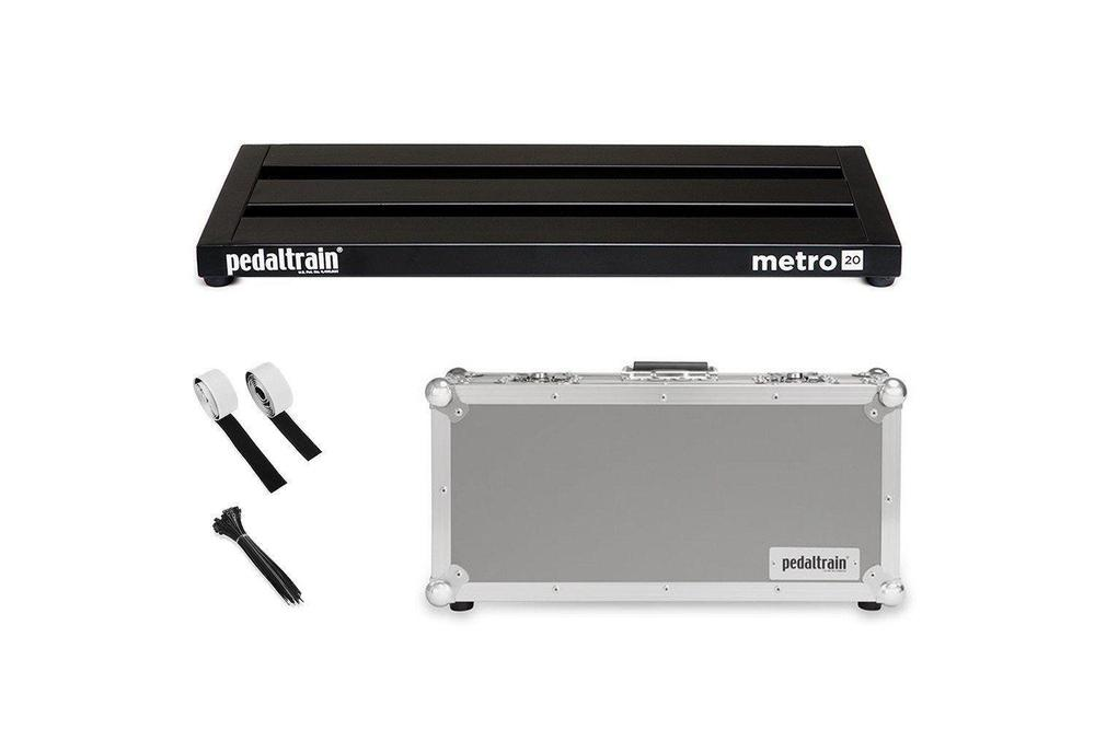 Pedaltrain Metro 20 with Tour Case Pedal Boards