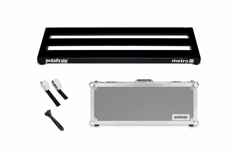 Pedaltrain Metro 24 with Tour Case Pedal Boards