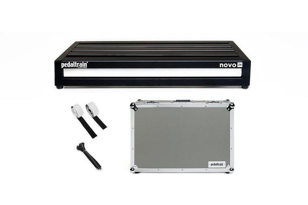 Pedaltrain Novo 24 with Tour Case Pedal Boards