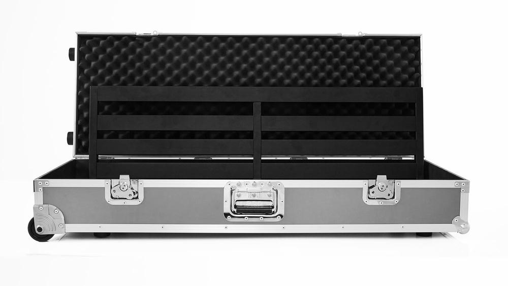 Pedaltrain Terra 42 with Wheeled Tour Case Pedal Boards