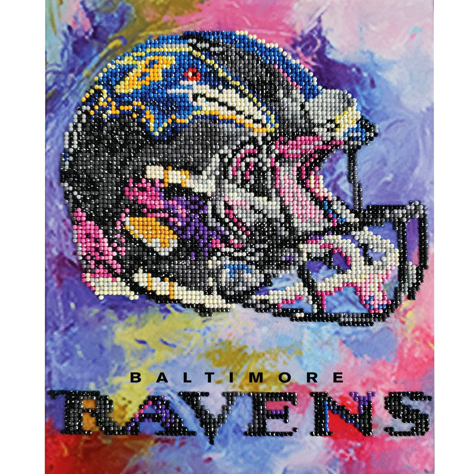 Ravens Diamond Art