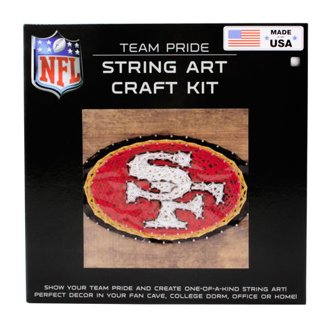 San Francisco 49ers - Team Pride String Art Kit