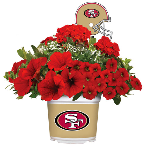 San Francisco 49ers - Summer Flower Mix