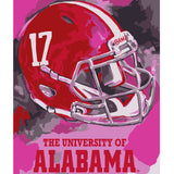 Alabama Crimson Tide - Team Pride Paint By Number Craft Kit
