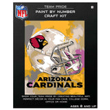 Arizona Cardinals - Team Pride Paint By Numbers Craft Kit