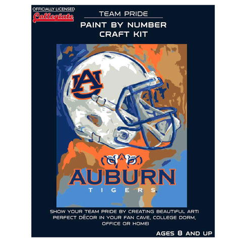 Auburn Tigers - Team Pride Paint By Number Craft Kit