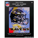 Baltimore Ravens - Team Pride Paint By Numbers Craft Kit