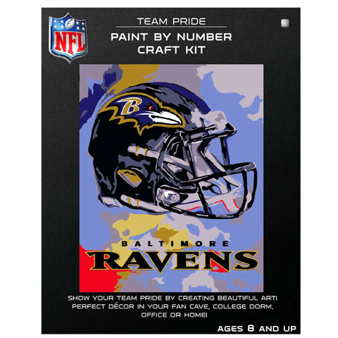 Baltimore Ravens - Team Pride Paint By Number Craft Kit