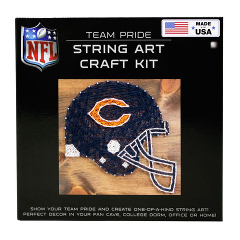 Chicago Bears - Team Pride String Art Kit