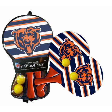 Chicago Bears - Team Pride Paddle Ball Set