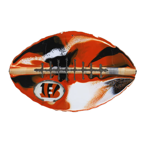 Cincinnati Bengals - Team Pride Recycled Metal Wall Art Football