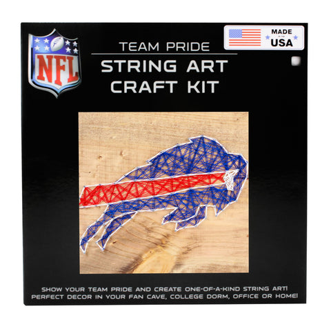 Buffalo Bills - Team Pride String Art Kit