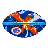Boise State Broncos - Team Pride Recycled Metal Wall Art Football