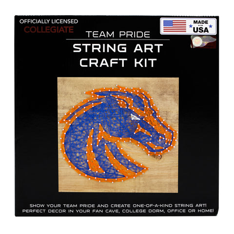 Boise State Broncos - Team Pride String Art Kit