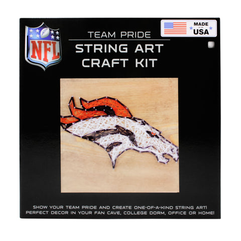 Denver Broncos - Team Pride String Art Kit