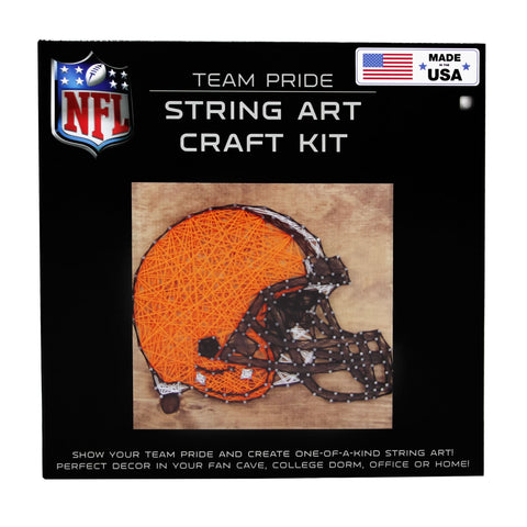 Cleveland Browns - Team Pride String Art Kit