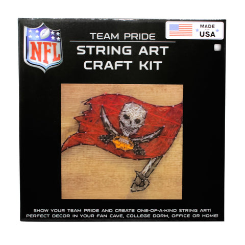 Tampa Bay Buccaneers - Team Pride String Art Kit