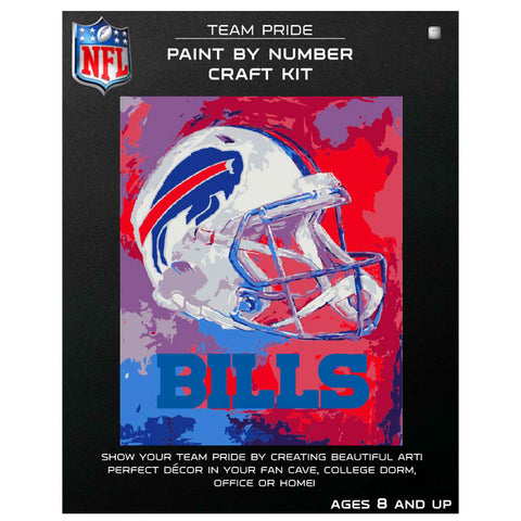 Buffalo Bills - Team Pride Paint By Number Craft Kit