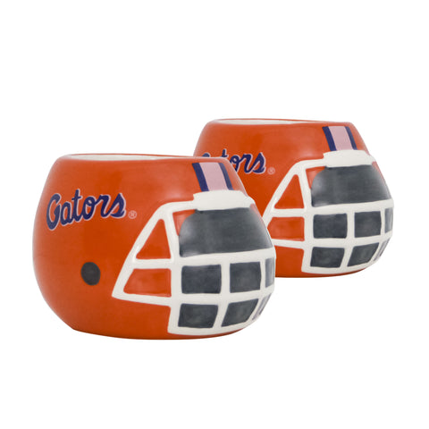 Florida Gators - Ceramic Helmet Planter – Empty Planter - Pack Of Two