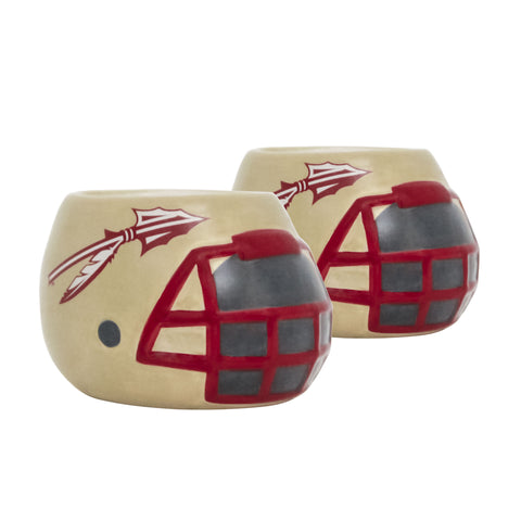 Florida State Seminoles - Ceramic Helmet Planter – Empty Planter <br> Pack Of Two