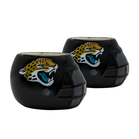 Jacksonville Jaguars - Ceramic Helmet Planter – Empty Planter - Pack Of Two