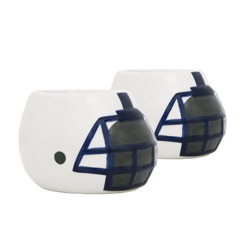 Penn State Nittany Lions - Ceramic Helmet Planter – Empty Planter <br> Pack Of Two