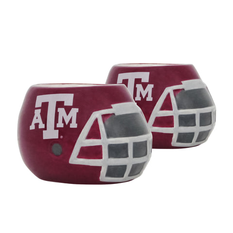 Texas A&M Aggies  - Ceramic Helmet Planter – Empty Planter - Pack Of Two