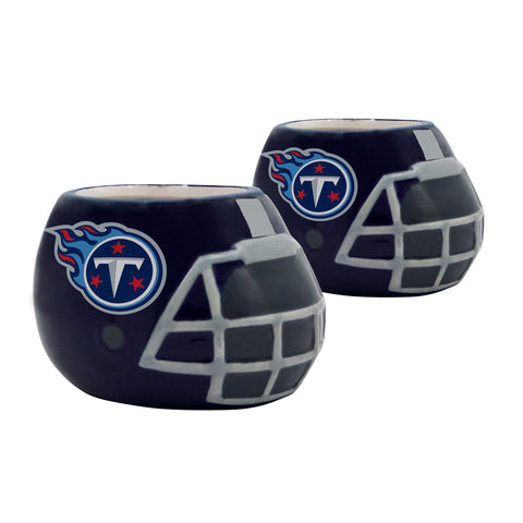Tennessee Titans - Ceramic Helmet Planter – Empty Planter - Pack Of Two