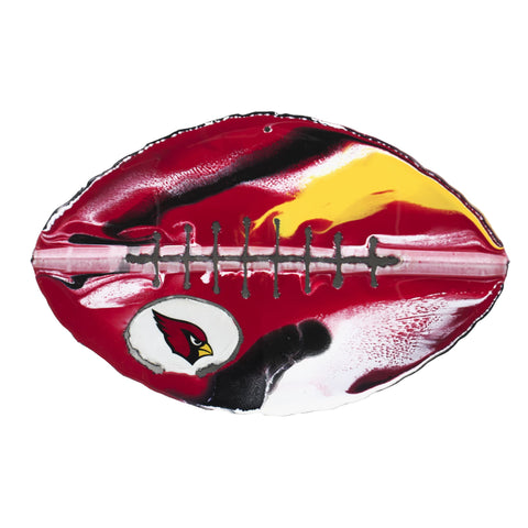Arizona Cardinals - Team Pride Recycled Metal Wall Art Football