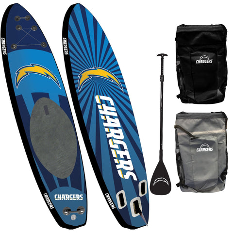 Los Angeles Chargers - Team Pride Inflatable Stand Up Paddle Board
